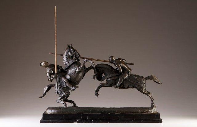 """""""Combat du Duc de Clarence et du Chevalier de Fontaine"""""""