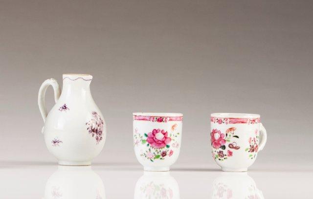 A Qianlong milk jug