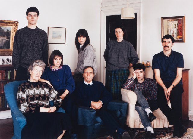 """The Smith Family, Fife, Scotland 1989"""