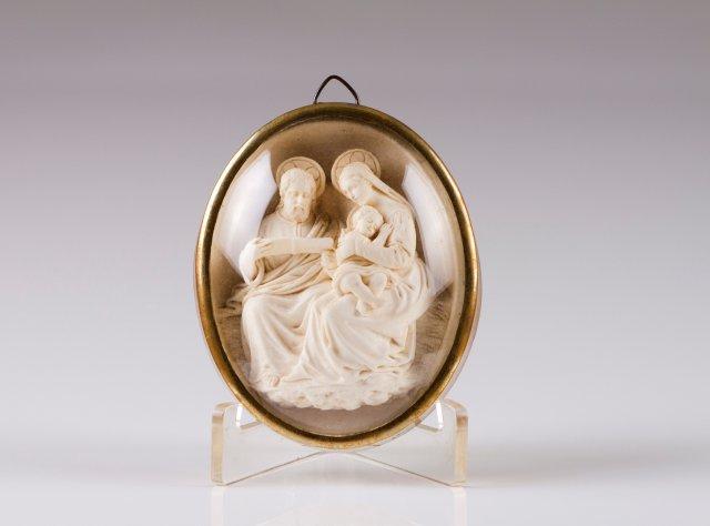 Saint Joachim, Saint Anne and the Virgin