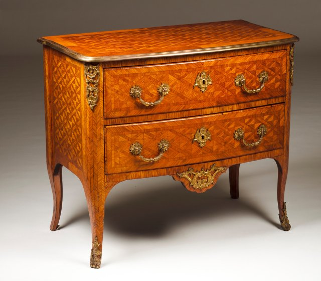 A pair of Louis XVI commodes