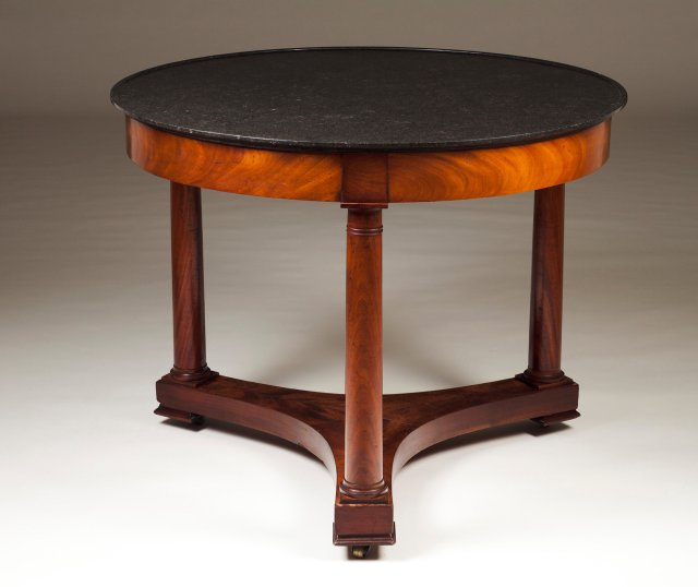 An Empire style centre table