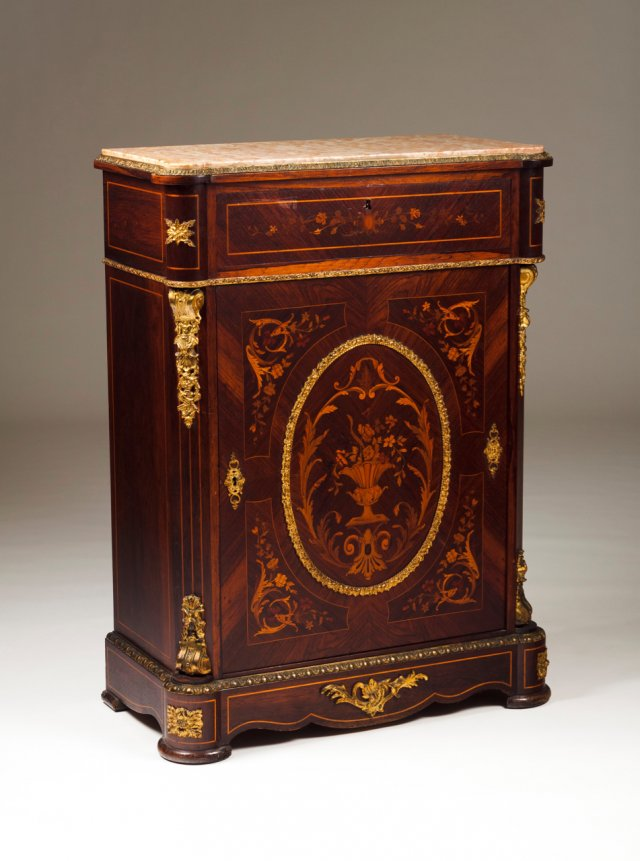 A pair of Napoleon III cabinets