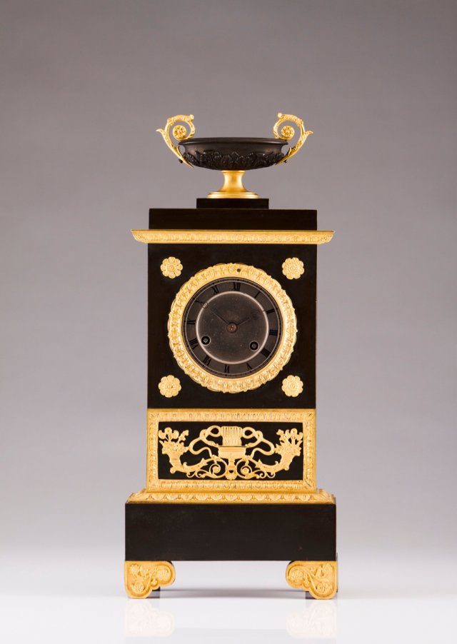 A Louis Philippe table clock