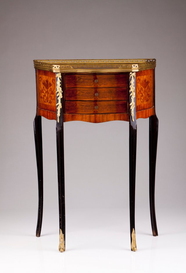 A Louis XV style side table