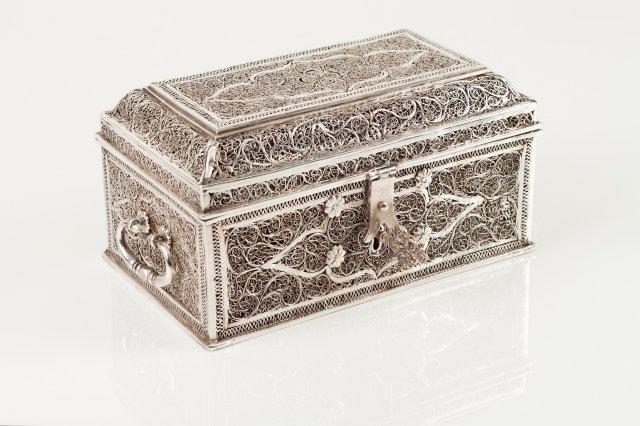 An 18th century Indo-Portuguese box