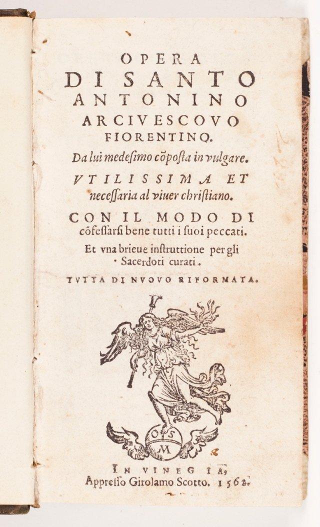 ANTONINO DE FLORENÇA, Santo (Antonio Pierozzi), 1389–1459