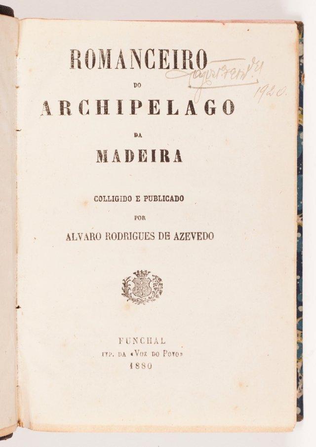 AZEVEDO, Álvaro Rodrigues de, 1825-1898