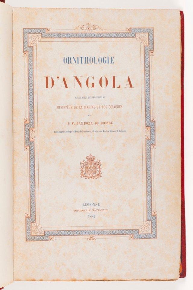 BOCAGE, José Vicente Barboza du, 1823-1907