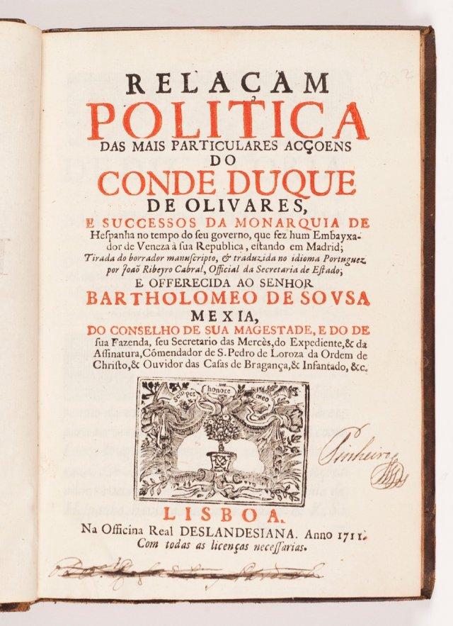CABRAL, João Ribeiro, 1655-1713