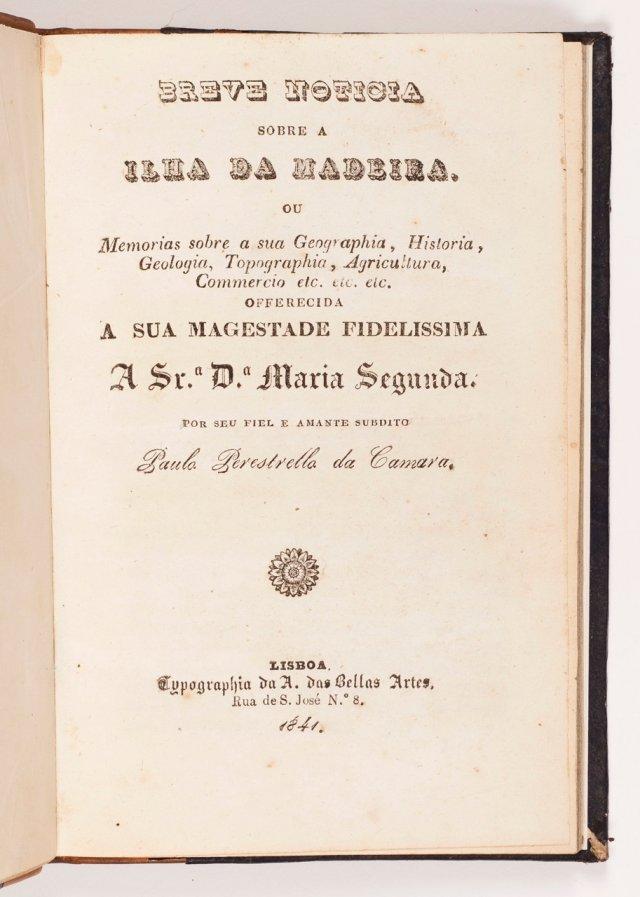 CÂMARA, Paulo Perestrelo da, 1810-1854