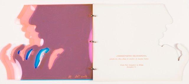 Livro de artista  CASTRO, Lourdes,