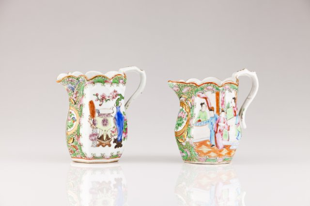 Two Guangxu milk jugs