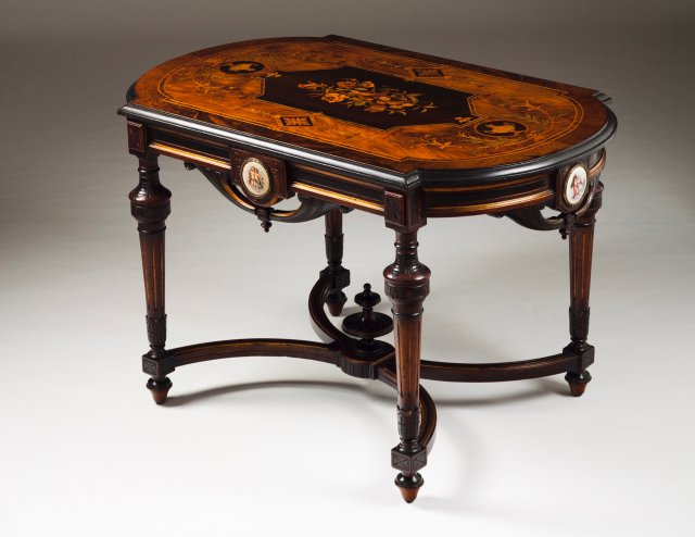 A Napoleon III centre table