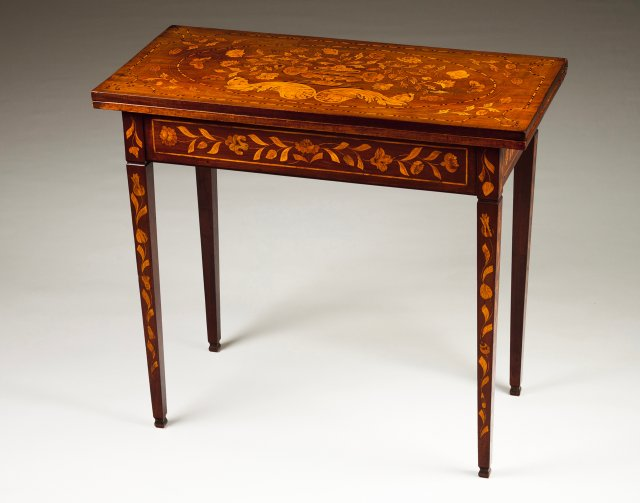 A Dutch tea table