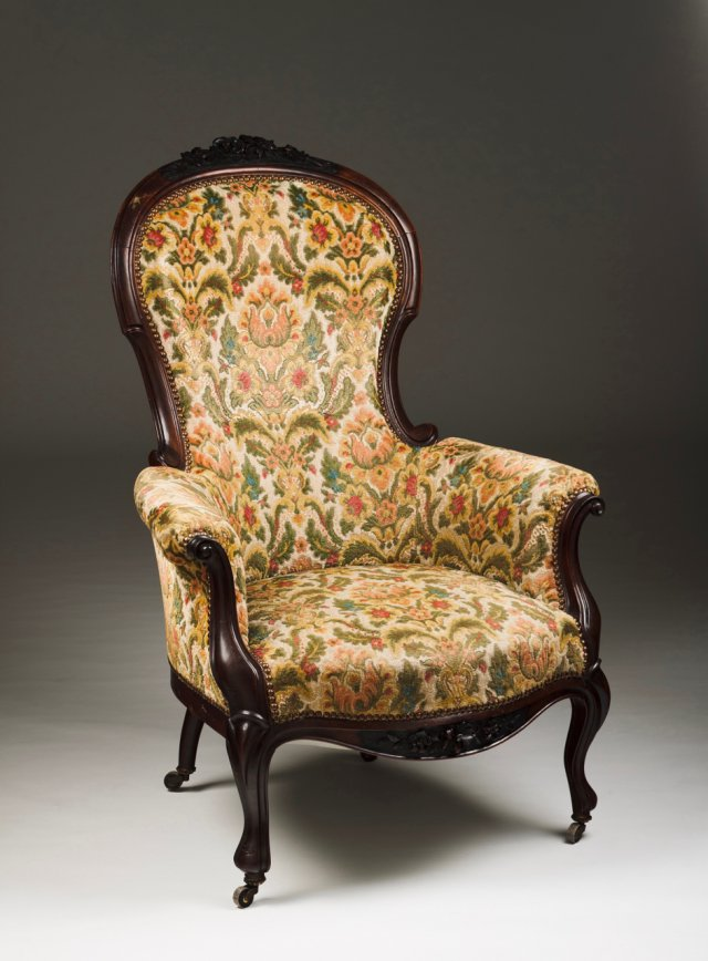 A Romantic armchair