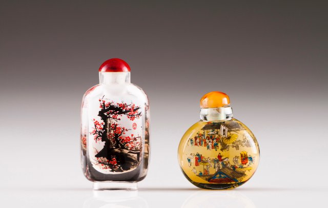 Two snuff-bottles