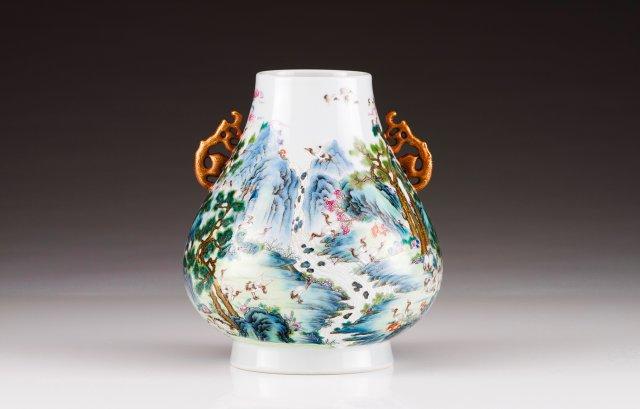 A vase