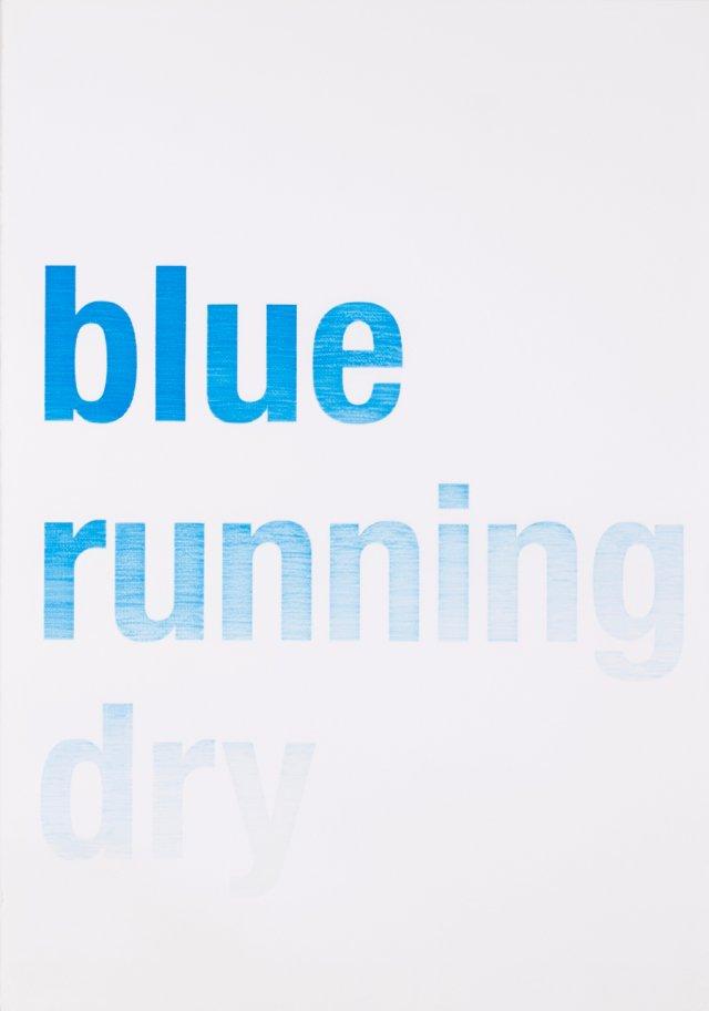 """Blue Running Dry"", 2005"