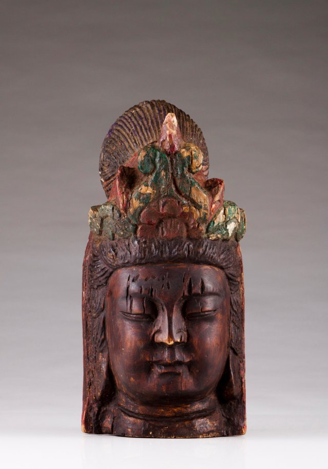 Busto de divindade oriental
