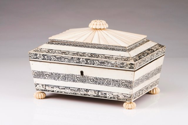 An Anglo-Indian sewing box