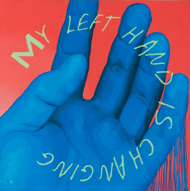 """My Left Hand is Changing"", 2000"