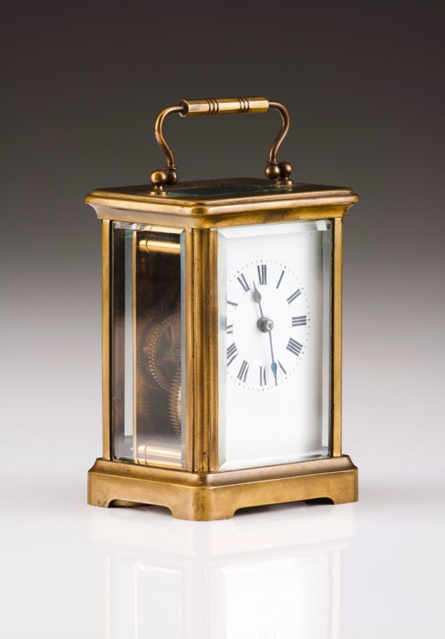 A carriage clock