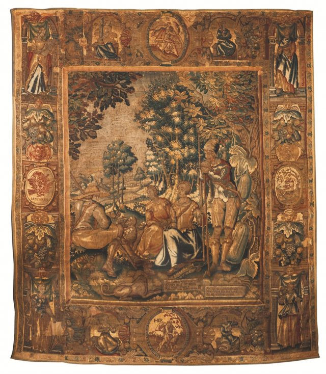 An early 17th century tapestry