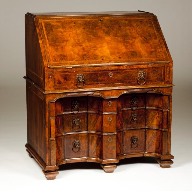 An unusual George II bureau