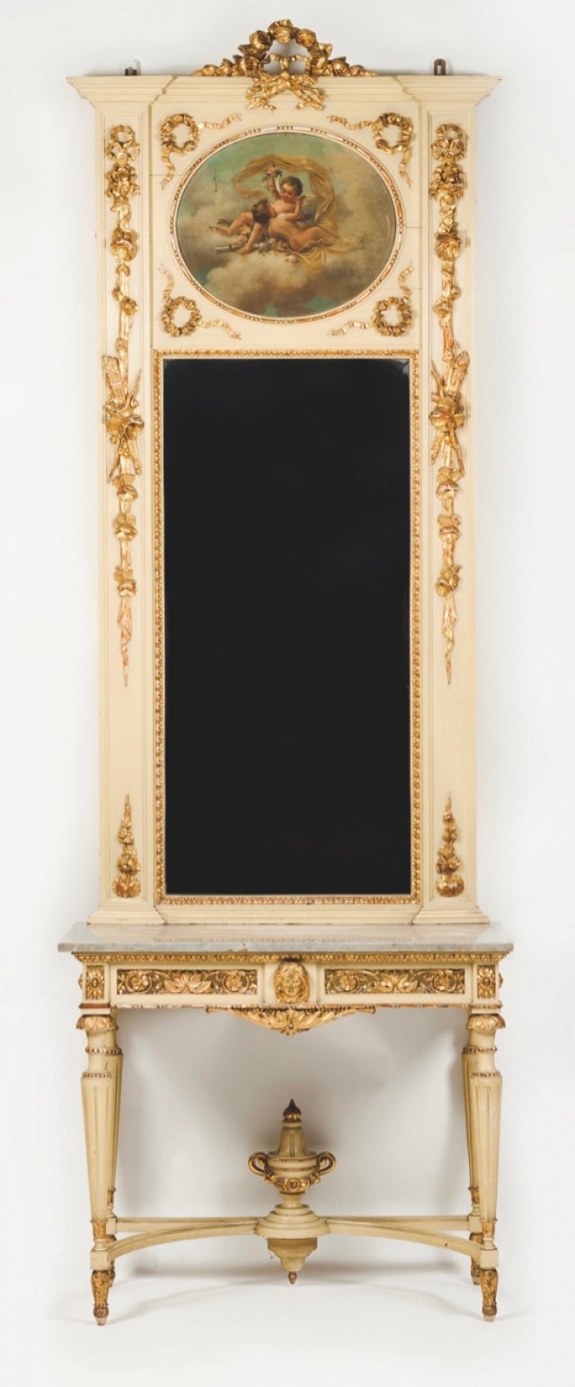 A Louis XVI style pier table