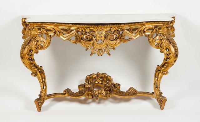 Consola estilo Luís XV