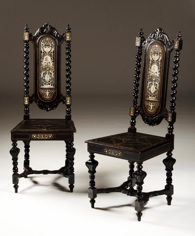 A pair of chair