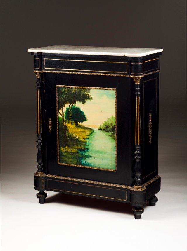 A Napoleon III style cabinet