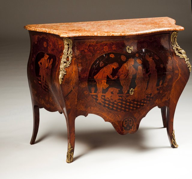 A Louis XV commode