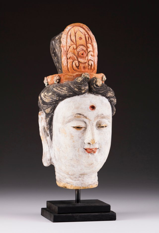 Cabeça de Bodhisattva