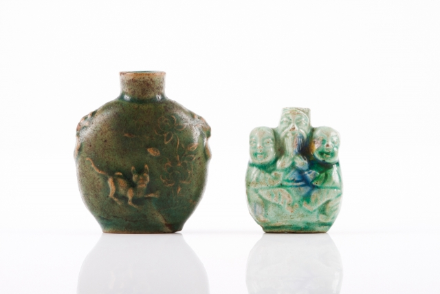 [Auction 65] Lot 29 – Two snuff-bottles