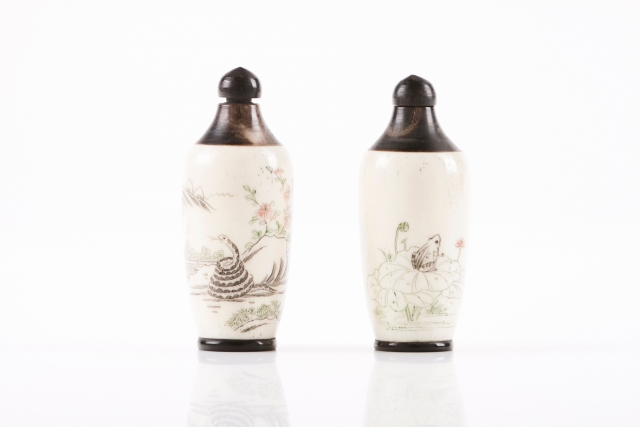 [Auction 65] Lot 37 – Two snuff-bottles