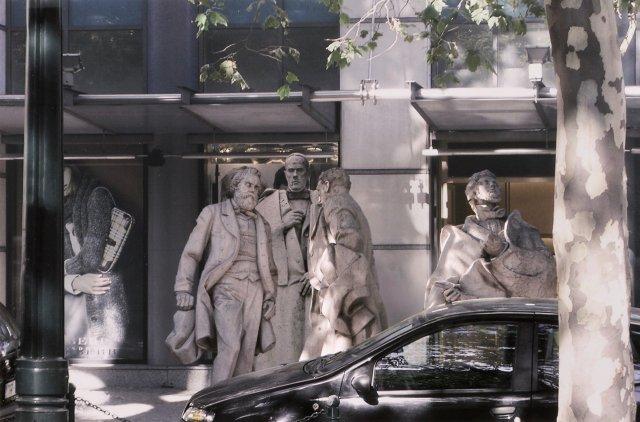 """""""Estudos com escultura pública #3"""", 2010"""