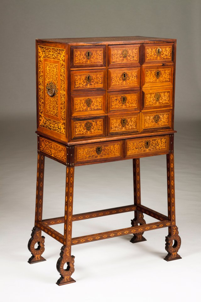 A 19th century cabinet