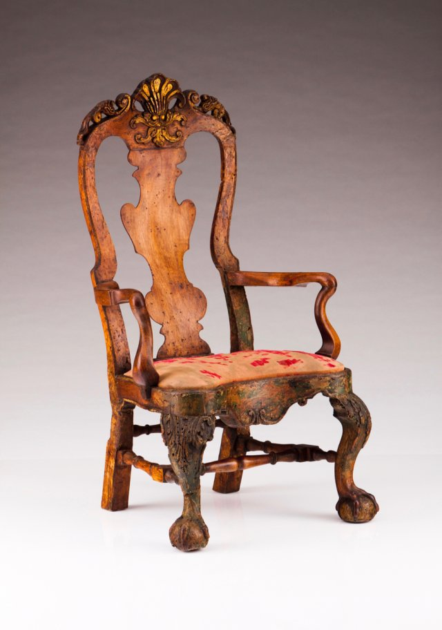 A D. João V (1707-1750) Child Jesus chair