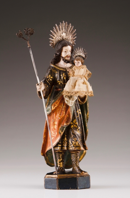 [Auction 70] Lot 8 – Saint Joseph with the Child