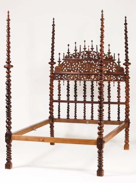 [Auction 70] Lot 58 – A 17th century bed