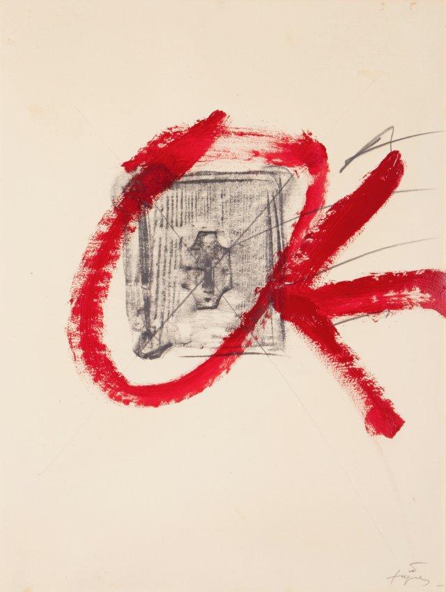 """Maquete para o cartaz """"Campanha d'Educació pels Drets Humans"""", 1981"""