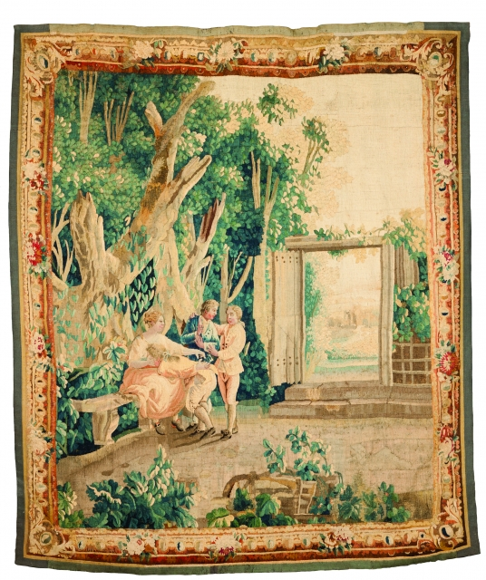 [Auction 72] Lot 60 – An Aubusson tapestry
