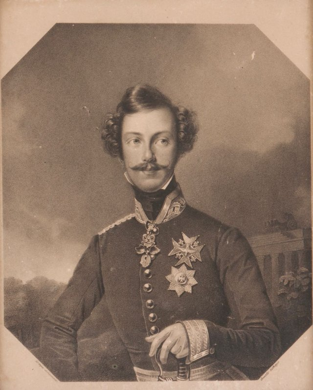 A German prince's portrait