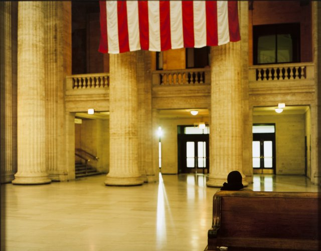 """Chicago Union Station, Chicago, Illinois"", 2008"