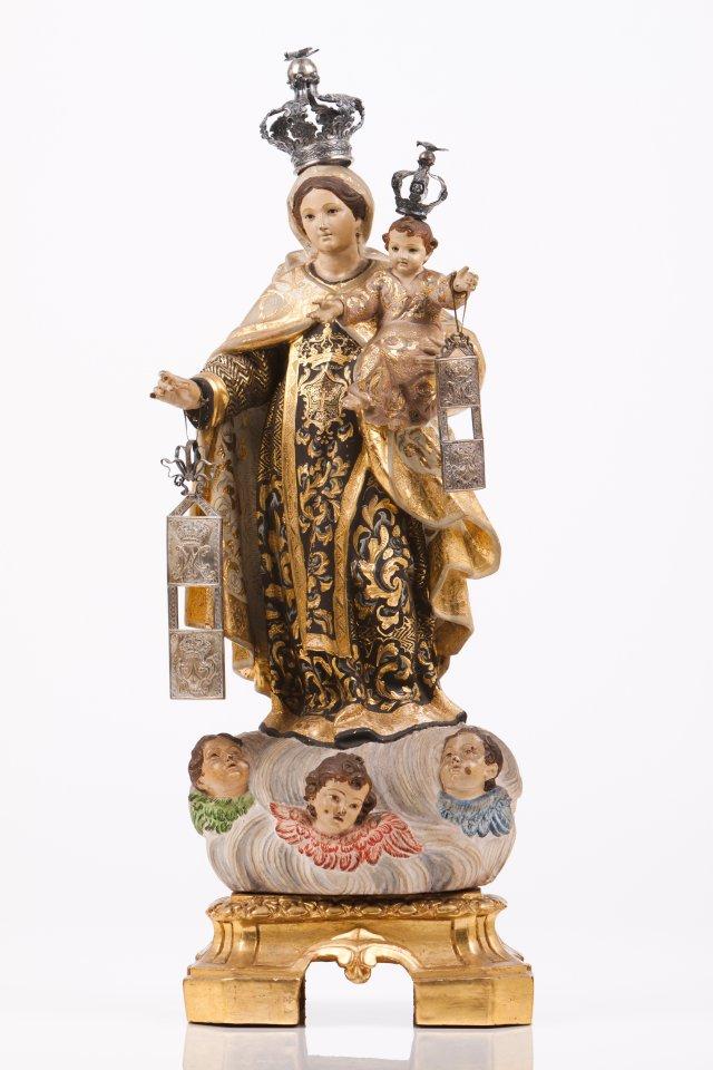 Nossa Senhora do Carmo com o menino