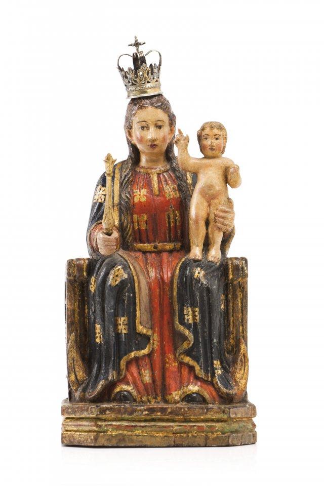 Nossa Senhora com Menino em majestade