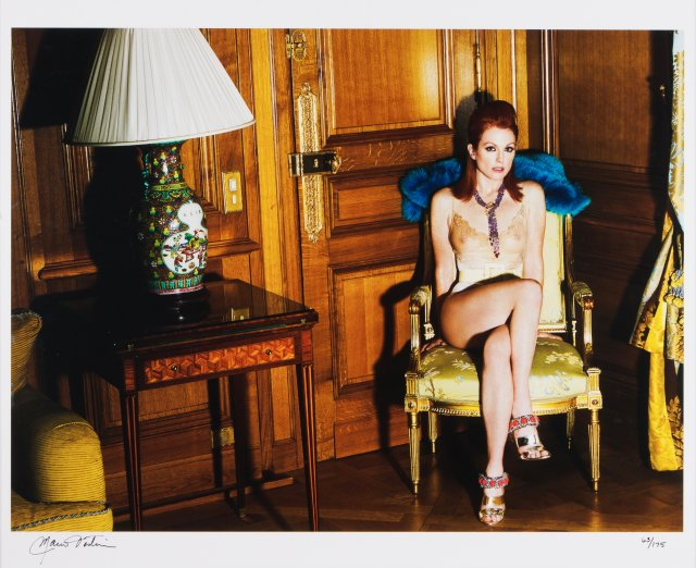 """Julianne Moore at the Crillon Hotel, Paris 2008"""