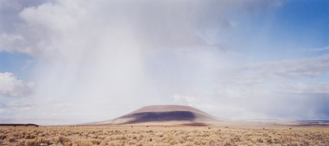 """The Roden Crater (View from the Southwest)"", 2001/2002"